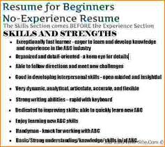 Writing A Resume Without Job Experience by Crafty Inspiration Ideas How To Make A Resume Without Experience 7
