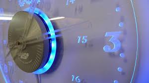 Ivation Clock by Ergonomic Led Wall Clock 77 Large Led Wall Clock Digital Look