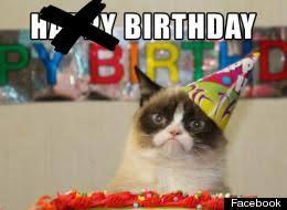 Grumpy Cat Meme Happy Birthday - happy birthday grumpy cat memes keywords and pictures