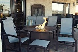 Tropitone Fire Pit by Complete Patio Groups Georgetown Fireplace And Patio