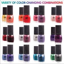 amazon com del sol color change nail polish quick dry lacquer