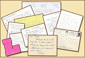 door customers thank you cards letters