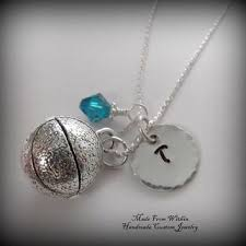 children s initial necklace for shop basketball charm necklace on wanelo