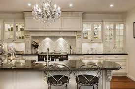 antique white cabinets in modern kitchen design idea feat mid