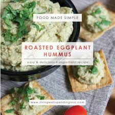 Homemade Plant Food by How To Make Homemade Hummus Roasted Eggplant U0026 Chickpea Hummus