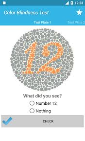 Colour Blind Test Free Online Color Blindness Test Android Apps On Google Play