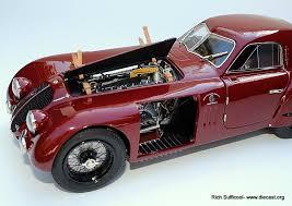 cmc 1 18 1938 alfa romeo 8c 2900b speciale touring coupe diecast
