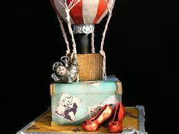 Map Of Oz My Steampunk Wizard Of Oz Wedding Cake Sugar Veil Net Modelling