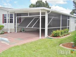 lifestyle carport application from carport to screened room