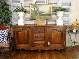 French Country Buffet And Hutch by Antique Buffet Sideboard French Country Server 2 Door Drawers