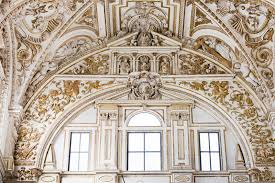 mezquita cathedral renaissance ornamentation stock image image
