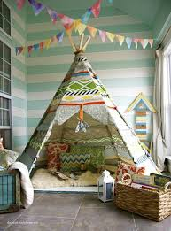 Tents For Kids Room by Wigwam Tents Blending Kids Playroom Ideas Into Cozy Children
