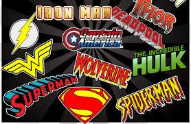 superhero logo wallpaper wallpapersafari