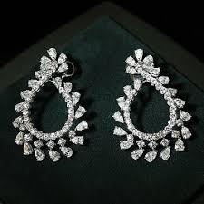 earrings hong kong wholesale diamond earrings manufacturers diamond earrings
