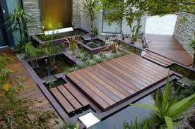 Japanese Garden Idea Small Japanese Garden Design Ideas With Pond And Wooden Deck