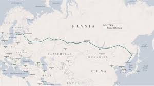 Siberia On World Map by The Greatest Train Journey On Earth