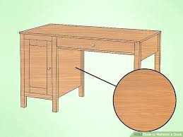 how to refinish a desk how to refinish a desk 15 steps with pictures wikihow