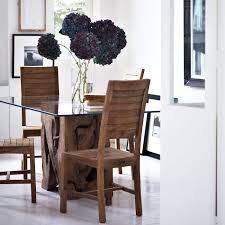 teak root glass dining table natural teak raft furniture
