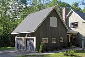 Barn Garage Doors Oversized Garage Doors Garage Farmhouse With Gray Siding Two