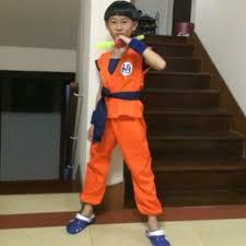 Dragon Halloween Costume Kids Aliexpress Buy Japan Anime Kids Dragon Ball Cosplay