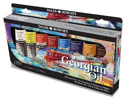 georgian oil daler rowney