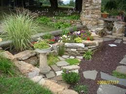 Tropical Rock Garden Rock Design Ideas