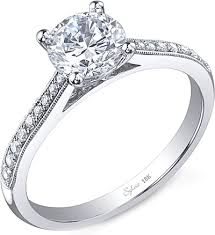 pave engagement rings images Sylvie pave diamond engagement ring sy821 png
