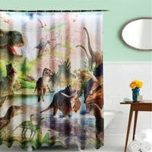 Dinosaur Bathroom Decor by Popular Dinosaur Curtains Buy Cheap Dinosaur Curtains Lots From