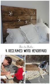 Reclaimed Wood Headboard Diy Project A U0027reclaimed U0027 Wood Heaboard Finding Silver Pennies