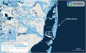 Miami Beach Map How Hurricane Irma Could Be So Destructive To Florida Temblor Net