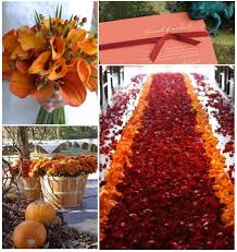 we love this wedding aisle runner for fall very dramatic and