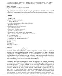 information technology training needs analysis sample email