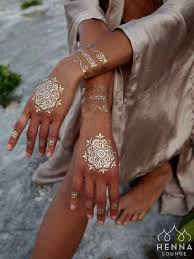 everything you need to know about white henna bohemian beach