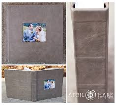 4x5 photo album denver wedding photographer rustic colorado
