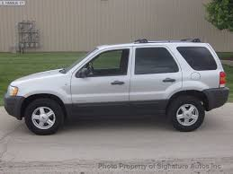 2002 used ford escape xlt at signature autos inc serving