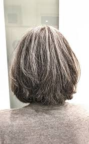 stylish cuts for gray hair 108 best growing out my gray hair images on pinterest hair