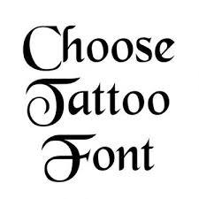 Tattoo Idea Generator Tattoo Lettering Font Generator Online