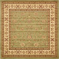 10 Square Area Rugs Unique Loom Heritage Multi 10 Ft X 10 Ft Square Area Rug 3121090