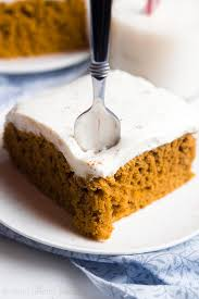 Best Pumpkin Cake Mix by Pumpkin Cake With Cream Cheese Frosting Amy U0027s Healthy Baking