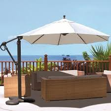 rectangular patio umbrella 10foot wide rectangular offset patio