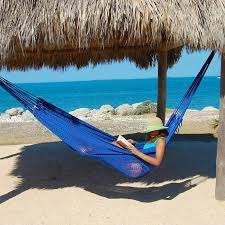 mayan caribbean hammock blue by the caribbean hammocks store