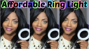 neewer macro ring led light affordable ring light neewer 48 led ring light review techbeautie