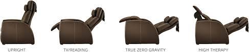 Zero Gravity Recliner Leather Luma Leather True Zero Gravity Recliner Positive Posture
