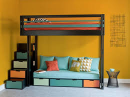 canape lit superpose 10 solutions pour aménager le dessous d un lit mezzanine lit