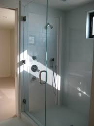 Agalite Shower Doors by Frameless Shower Tub Enclosures Ultra Glass Clear Glass