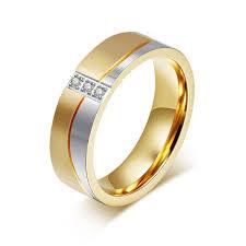 aliexpress buy modyle new fashion wedding rings for modyle new fashion gold color wedding rings for men and women