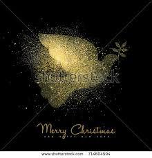 merry christmas happy new year luxury stock vector 714604594