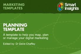 digital marketing proposal template digital and social content