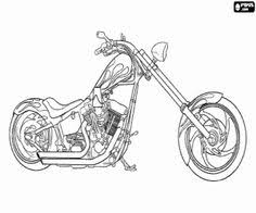 harley davidson coloring pages print free motorcycle coloring