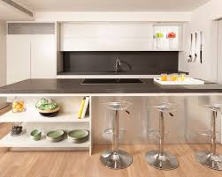 kitchen island with open shelves open kitchen island shelving houzz